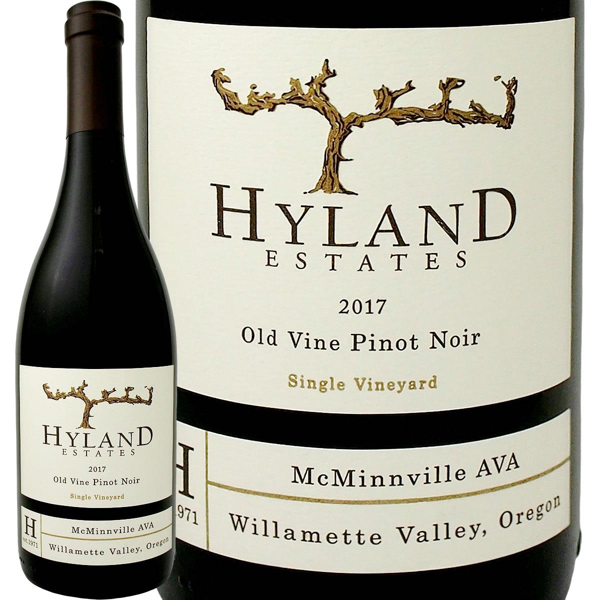 [クーポンで10%OFF]ハイランド・エステート・ピノ・ノワール 2017【アメリカ】【赤ワイン】【750ml】【Hyland Estate】【Oregon】【94点】【オールド・ヴァイン】【自根】