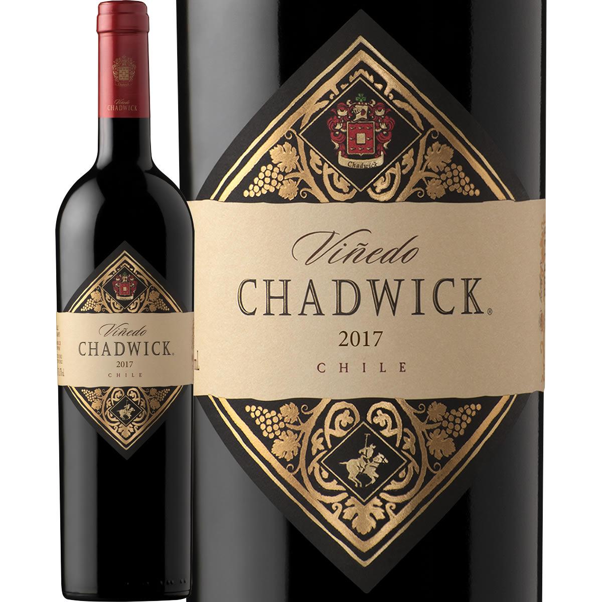 ヴィニエド・チャドウィック2017チリ 赤ワイン 750ml フルボディ 辛口 Vinedo Chadwick 100点