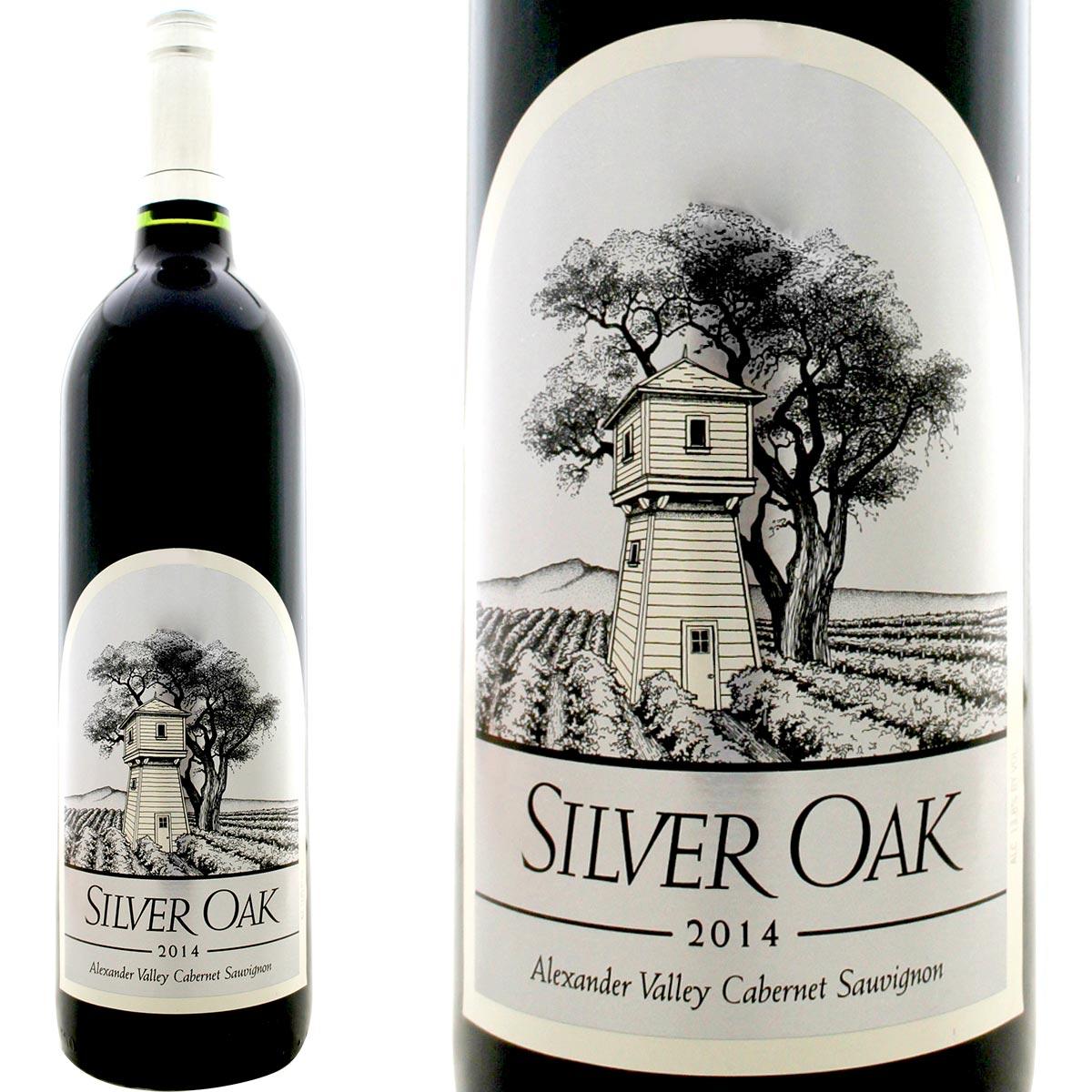 シルヴァー・オーク・アレキサンダー・ヴァレー・カベルネ・ソーヴィニョン 2014【Silver Oak】【赤ワイン】【750ml】【カリフォルニア】【Sonoma】