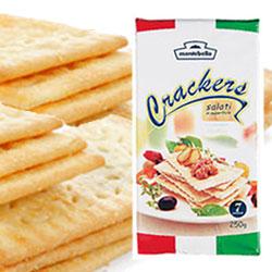 サクサクとした触感の中に香ばしい小麦の風味 数量は多 クラッカー モンテベッロ ギフトBOX不可 SALENEW大人気 250g ラッピング不可
