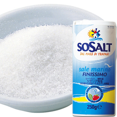 So salt sea salt plain (fine-grain salt) 250 g