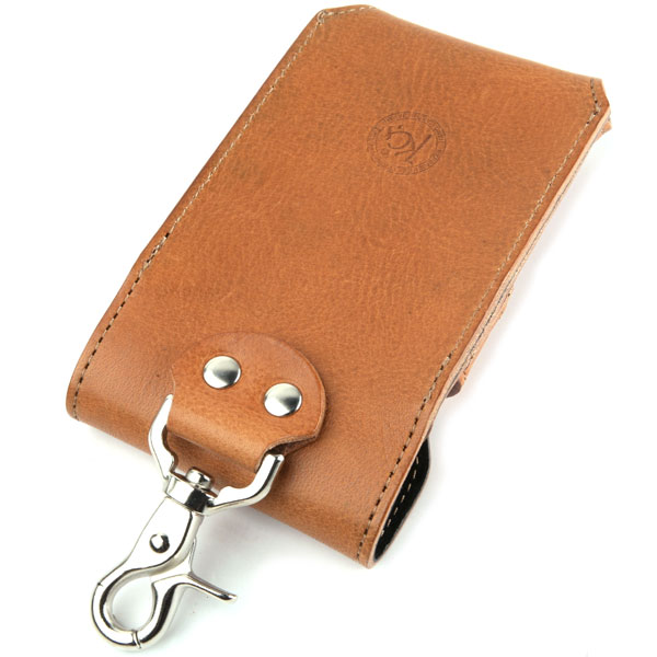 智能手机案件皮革皮革 iphone4 iphone5 邮袋手机 KC,s keysiise: 移动案例智能 # 7