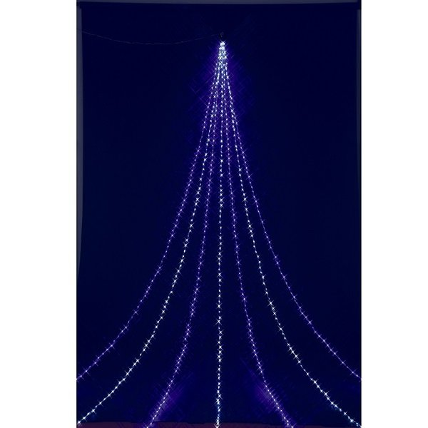 フローレックス KT-3390 5Mニューホワイトブルー LEDドレープライト KT3390【送料無料(沖縄・離島を除く)】【メーカー直送品】【同梱/代引不可】【FLOREX・イルミネーション・店舗装飾】
