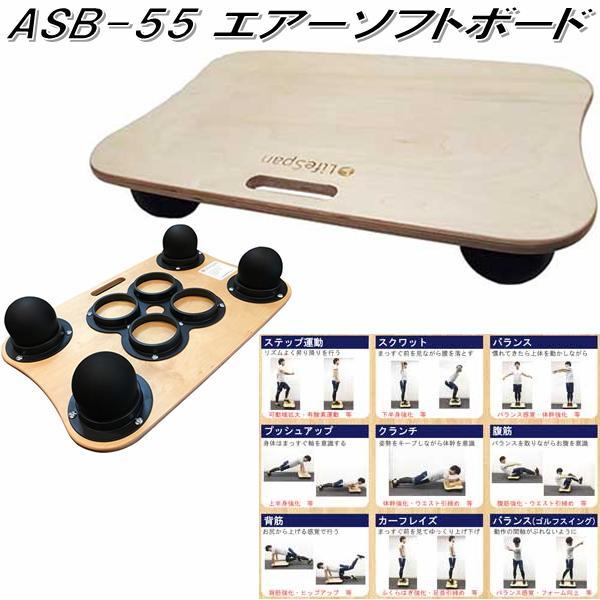 【別途送料が掛かります(S)】中旺ヘルス ASB-55 エアーソフトボード ASB55【メーカー直送】【代引き/同梱不可】【バランスボール ヨガボール ダイエット器具 エクササイズ トレーニング】