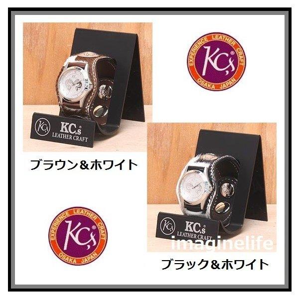 【送料無料(沖縄・離島を除く)】KC s ケーシーズ KSR503 スリー コンチョ アンボーン KSR-503【お取り寄せ商品】【ケイシイズ/LEATHER CRAFT/腕時計/ブレスレット/兼用】