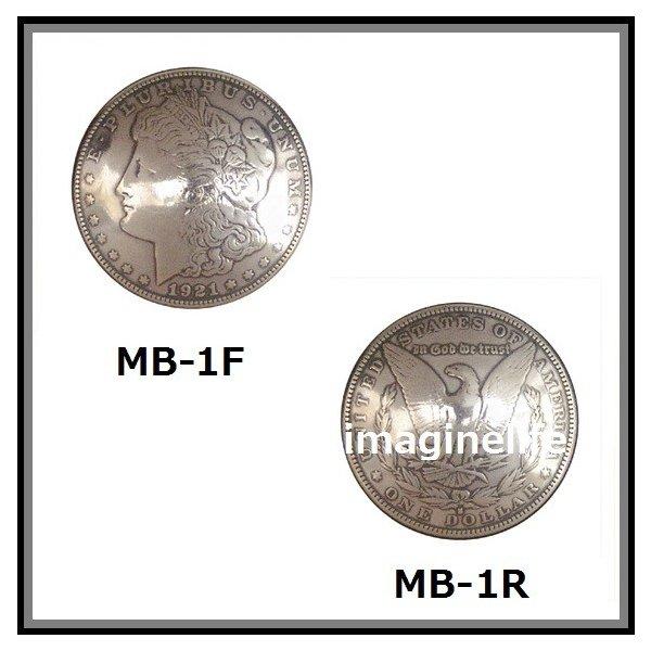 【送料無料(沖縄・離島を除く)】KC  ケーシーズ MB-L 1$(One Doller)コイン コンチョ 37ミリ【ケイシイズ/LEATHER CRAFT/財布/修理/カスタム】【お取り寄せ商品】
