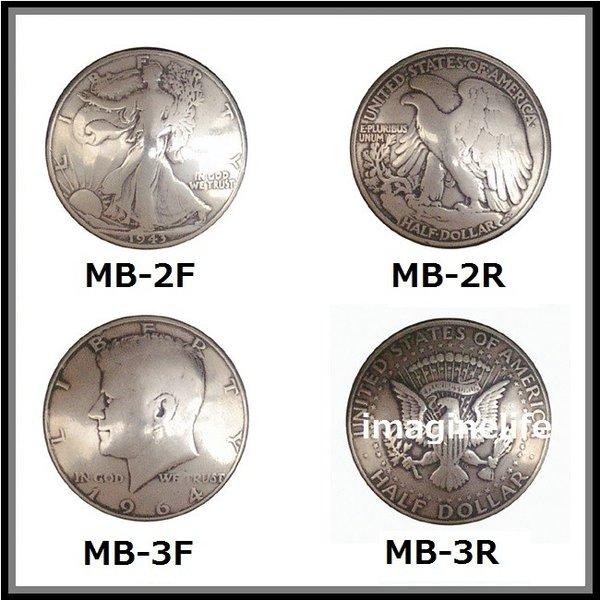 【送料無料(沖縄・離島を除く)】KC  ケーシーズ MB-L 50cent(Half Doller)コイン コンチョ 31ミリ【ケイシイズ/LEATHER CRAFT/財布/修理/カスタム】【お取り寄せ商品】