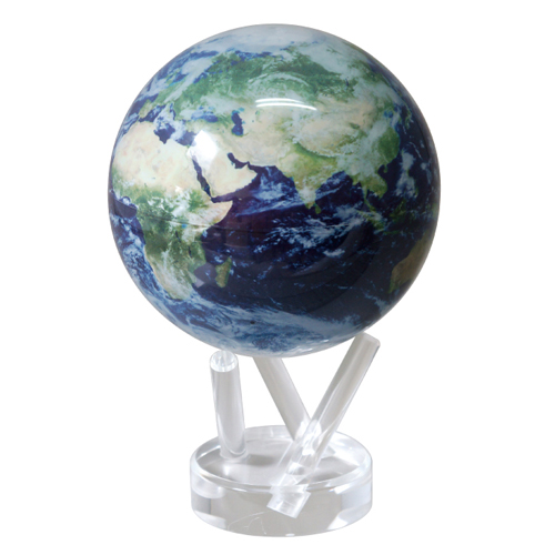 MOVAグローブ 地球儀 11cm Satellite View W/Cloud MG45STEC
