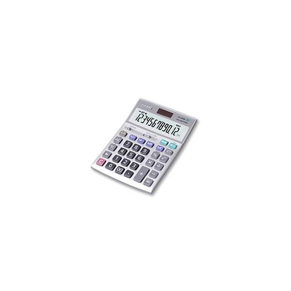 【CASIO/カシオ計算機】デスクサイズ電卓 12桁 DS-20WK