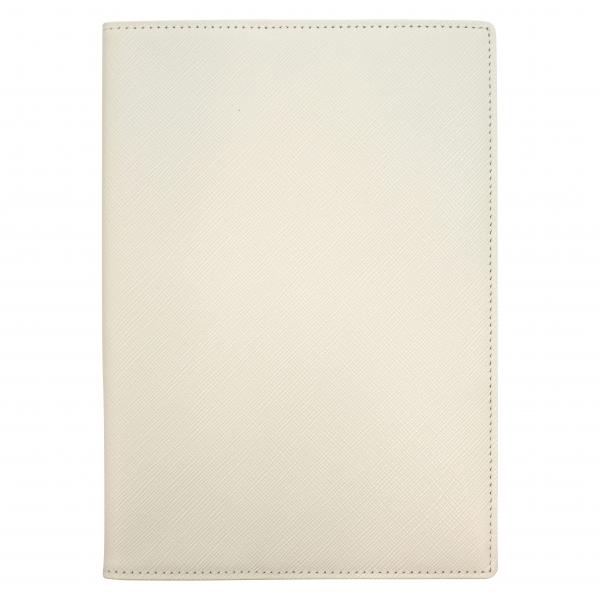 【送料無料】B6 ベスティート ダイアリーカバー/ノートカバー 本革【ホワイト】 8286-001【あす楽対応】