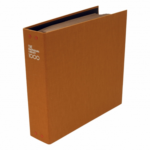 【送料無料】フォトグラフライブラリー1000【オレンジ】ポケット式フォトアルバム AL-TPL1000-OR【あす楽対応】