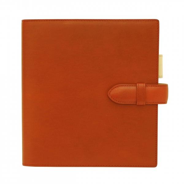 【Ashford/アシュフォード】HB×WA5サイズ キュリオ ベルト リング径15mm【オレンジ】システム手帳バインダー 6128-084 【あす楽対応】