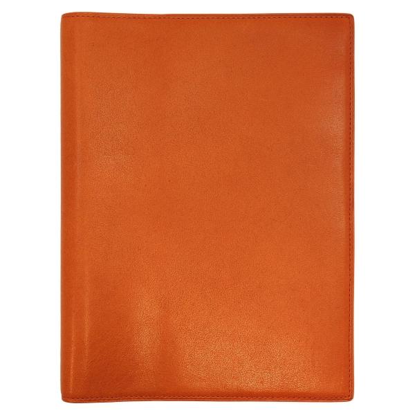 【Knox/ノックス】A5サイズ 6穴 カロス(KALOS) リング径16mm【オレンジ】システム手帳バインダー 101-690-42 【あす楽対応】