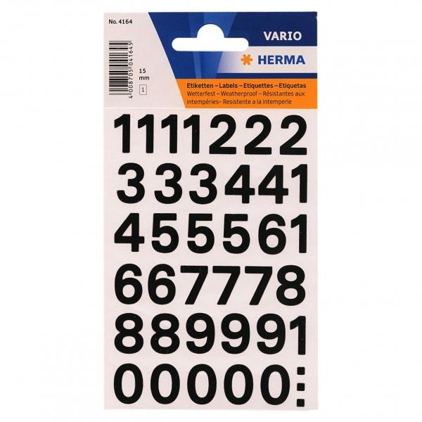 メール便可 メール便制限 店内全品対象 厚さ2.5cm A4サイズまで サイズを超える場合は宅配便に変更致します 定価 送料追加致します HERMA 304164 あす楽対応 ラベル 数字 #4164 ヘルマ 防水シール