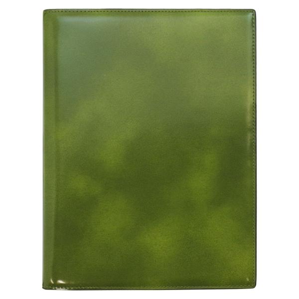 【Knox/ノックス】A5サイズ 6穴 フィオナ 本革 リング径16mm【グリーン】システム手帳バインダー 101-794-50 【あす楽対応】
