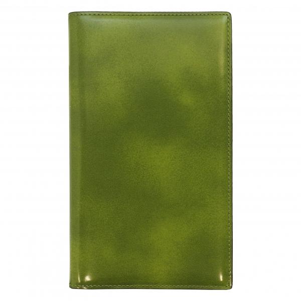 【Knox/ノックス】バイブルサイズ フィオナ リング径13mm【グリーン】システム手帳バインダー 124-794-50 【あす楽対応】