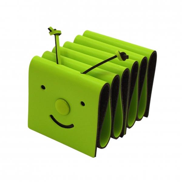 カードスタンド わかくさ メモムシ グリーン あす楽対応 ペンホルダー 日本産 009グリーン 有名な