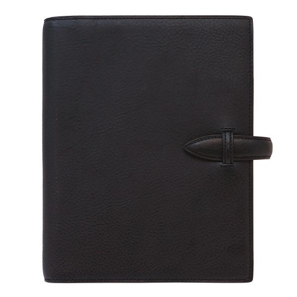 【送料無料】システム手帳 A5 ミネルバボックス リング径19mm ベルト【ネイビー】 731-70【あす楽対応】