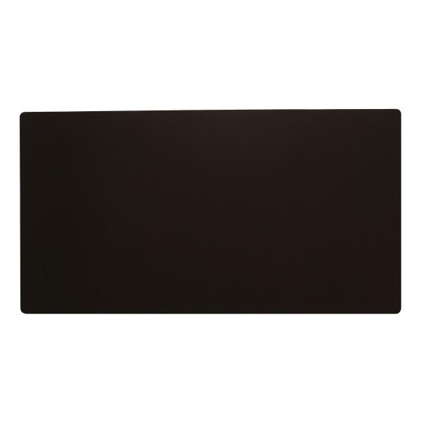 【送料無料】リサイクルレザー デスクマット Mサイズ 600x320mm【ブラック】 ITD02【あす楽対応】