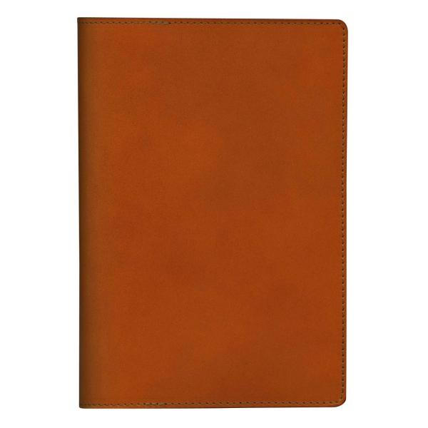 【purr】B6サイズ ノートカバー 本革製(牛革・オイルレザー)【キャメル】 802550 15 【あす楽対応】