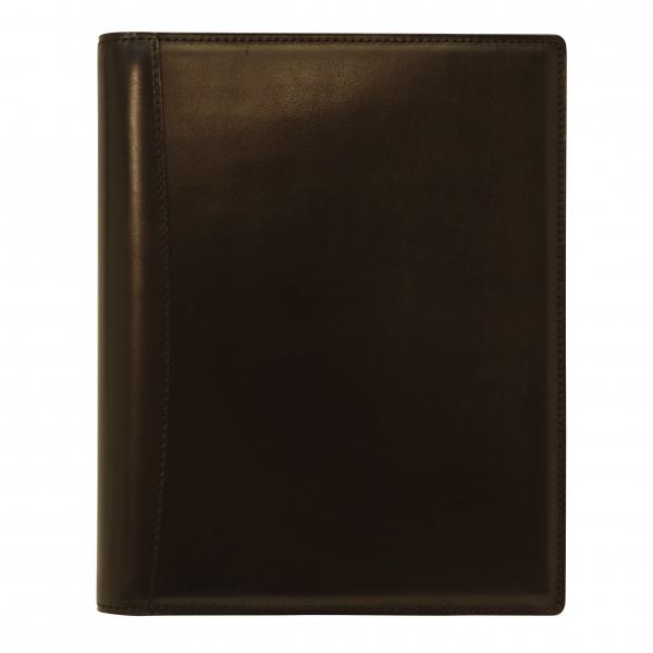 【Knox/ノックス】A5サイズ 6穴 ピアス リング径16mm 本革製【ブラック】システム手帳バインダー 101-171-20 【あす楽対応】