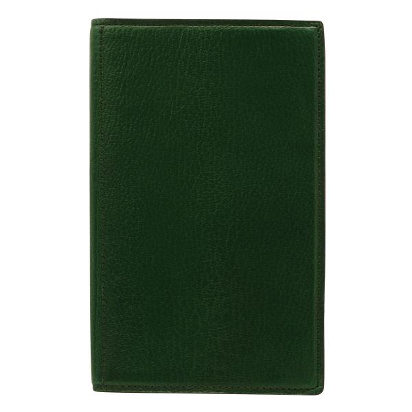 【Ashford/アシュフォード】バイブルサイズ プレスコット トラベルマン リング径15mm【グリーン】システム手帳バインダー 7241-055 【あす楽対応】