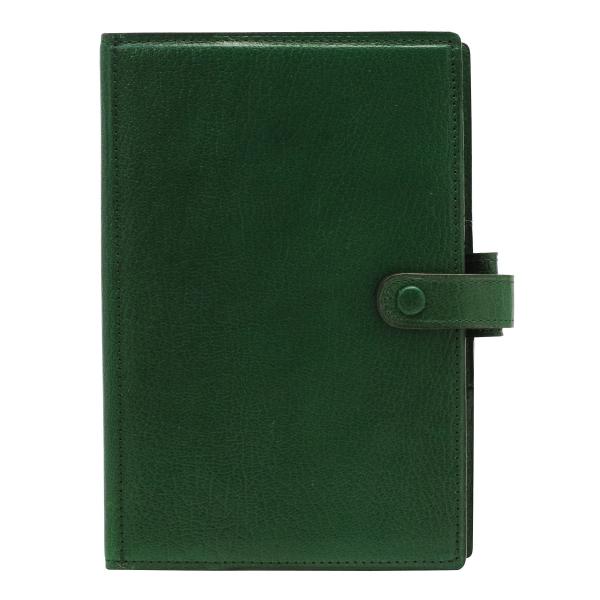 【送料無料】バイブルサイズ プレスコット スタンダード リング径25mm【グリーン】システム手帳バインダー 7242-055【あす楽対応】