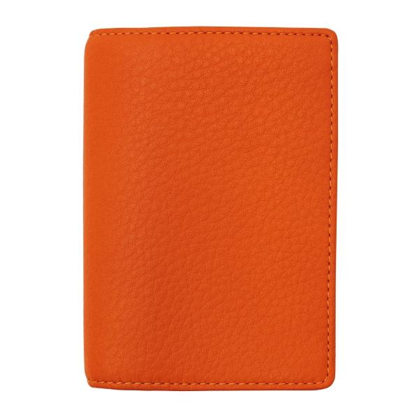 【送料無料】ミニ5穴サイズ シルフ ノート リング径8mm【オレンジ】システム手帳バインダー 2074-084【あす楽対応】