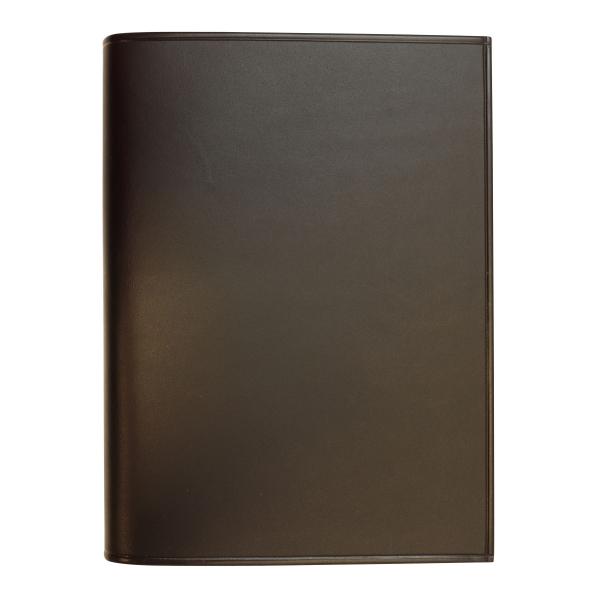 【Knox/ノックス】ミニ6穴サイズ イルブッテーロ リング径13mm【ブラック】レザーバインダー/システム手帳 12581520 【あす楽対応】