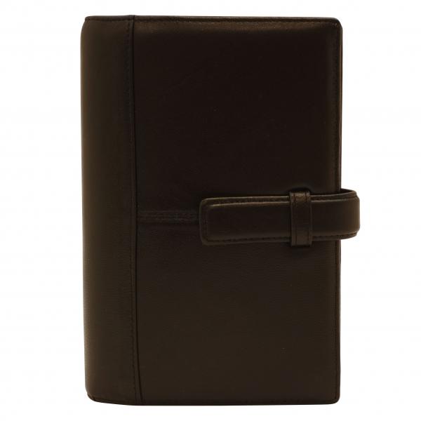 【フランクリン・プランナー】バイブルサイズ ポラリス シープスキン リング径20mm【ブラック】システム手帳バインダー 64109 【あす楽対応】