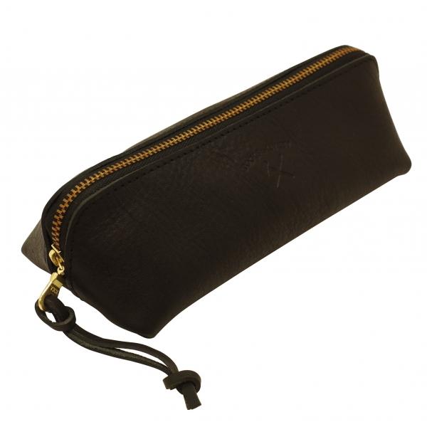 【HIGHTIDE/ハイタイド】Pencil Case/ペンケース TTLB(牛革製)【ブラック】 TL004-BK 【あす楽対応】
