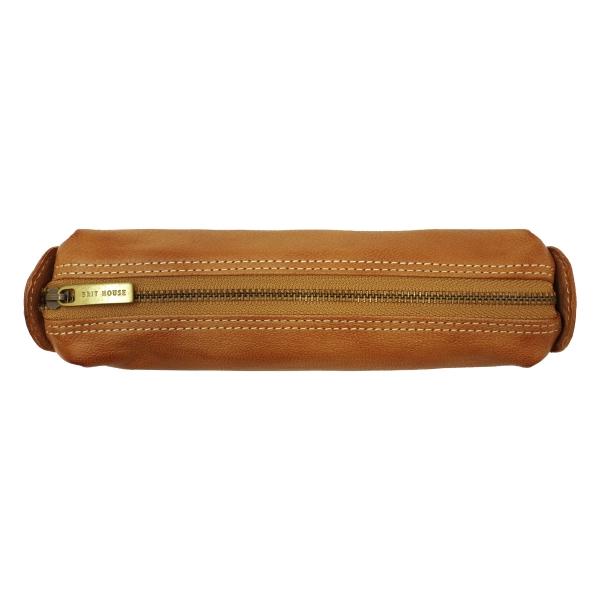 【送料無料】本革 日本製トスタゴートペンケース【ブラウン】 GD-3018-BR【あす楽対応】