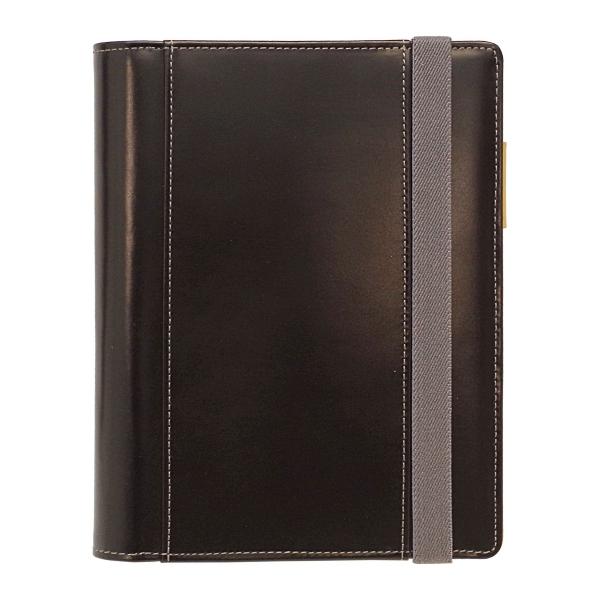【送料無料】B6 手帳カバー THE ME グレインレザー Live Diary 【ブラック】 GTH-1113-BK【あす楽対応】