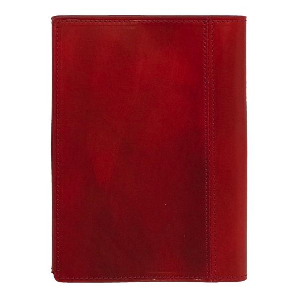 【送料無料】ドローイング ブックカバー 文庫判 本革【ワイン】 8688-048【あす楽対応】