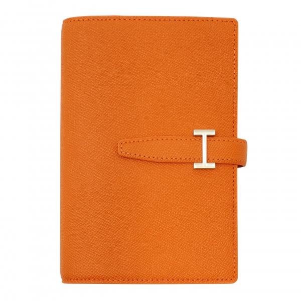 【フランクリン・プランナー】ポケットサイズ カラーノブレッサ・バインダー リング径15mm【オレンジ】 64337 【あす楽対応】