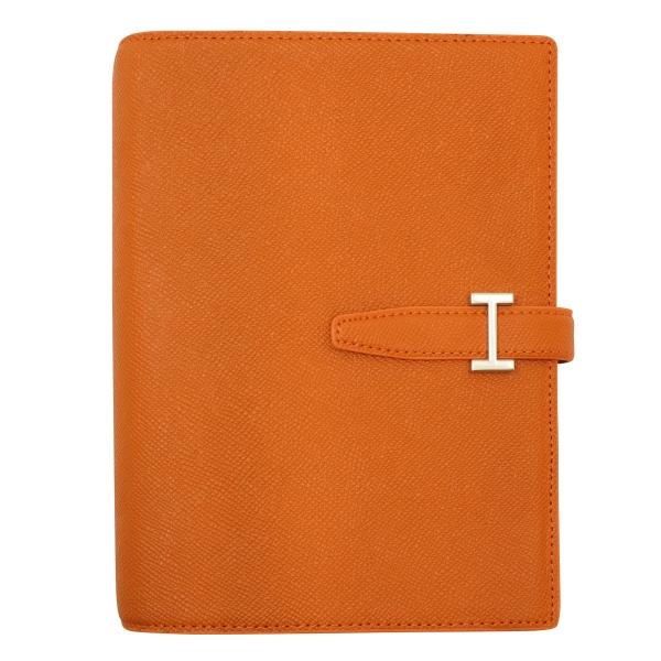 【フランクリン・プランナー】コンパクトサイズ カラーノブレッサ・バインダー リング径20mm【オレンジ】 64342 【あす楽対応】