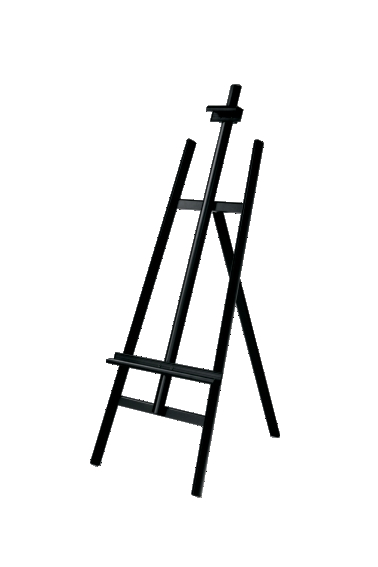 イーゼル・ベルクMS176 (サイズA2-B1),サインディスプレイ,掲示用品,事務用品,店舗用品,店舗什器,イーゼル,スタンド,ウェルカムボード置きに,お店,美術,芸術,ポスタースタンド