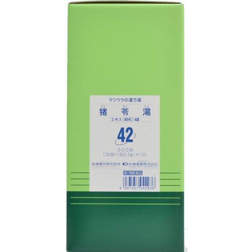 泌尿器疾患に応用される代表的な漢方薬「猪苓湯(チョレイトウ)300包(第2類医薬品)」