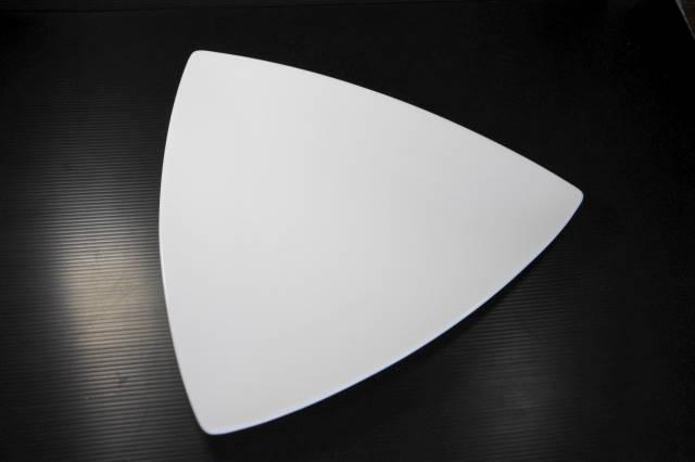 注目を集める形 白い食器 トリプル29cmプレート 期間限定お試し価格 新作入荷!! MNM 美濃焼 日本製 陶磁器 洋食器 白 平皿 大皿 ホワイト 三角皿 メインディッシュ レストラン カフェ ディナー アウトレット