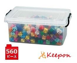 アーテックブロック メッセージDX 大容量560pcs プラケース入りおもちゃ/パズル/知育/日本製/授業/算数/アート/artecblock
