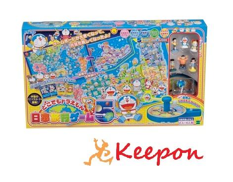 ドラえもん日本旅行ゲーム5 エポック社/ドラえもん/ボードゲーム