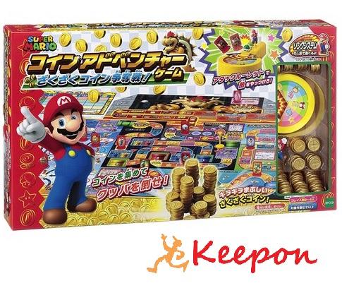 スーパーマリオコインアドベンチャーゲームざくざくコイン争奪戦! エポック社/マリオ/ボードゲーム
