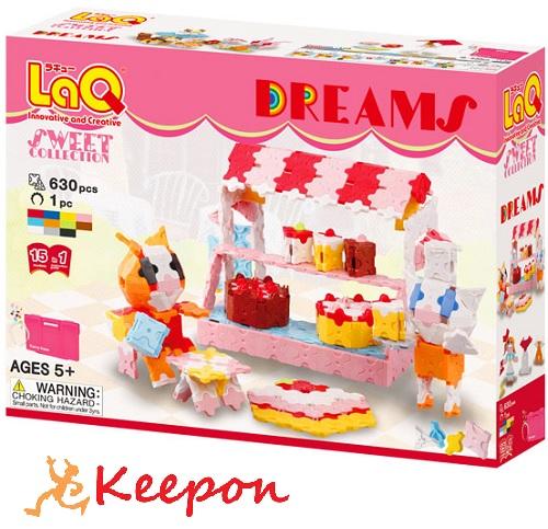 LaQ スイートコレクションドリームズ おもちゃ/ゲーム/ヨシリツ/ブロック