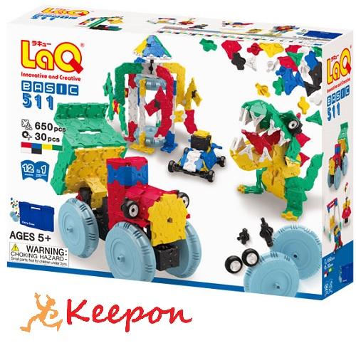 LaQ ラキュー ベーシック511 おもちゃ/ゲーム/ヨシリツ/ブロック