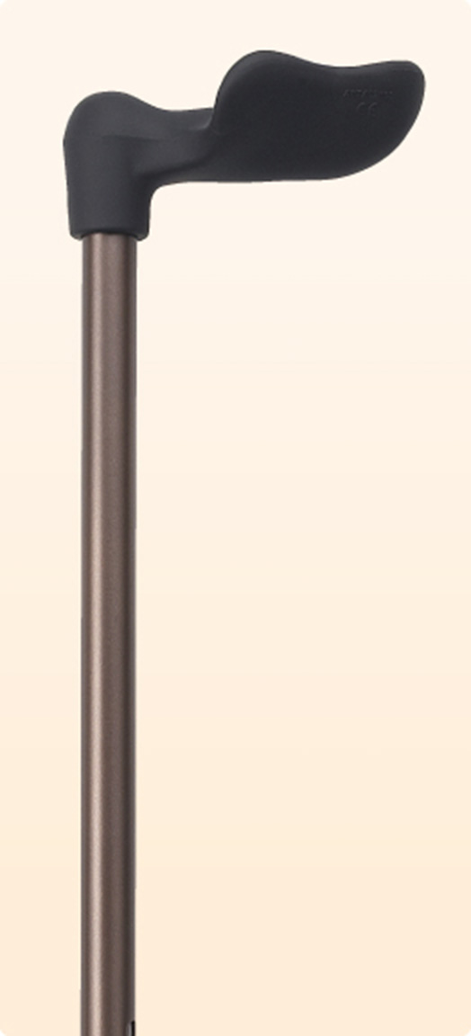 リハビリ杖 ステッキ 杖【ドイツ・オッセンベルグ社製リハビリ用機能杖】FG-2(右手用・左手用) 福祉・介護 歩行関連用品 ステッキ・杖 伸縮式杖
