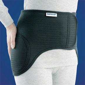 大腿骨 頸部 骨折 腰痛 サポーター 【セーフヒップ・アクティブ】カラー:ブラック【デンマーク製】 健康グッズ