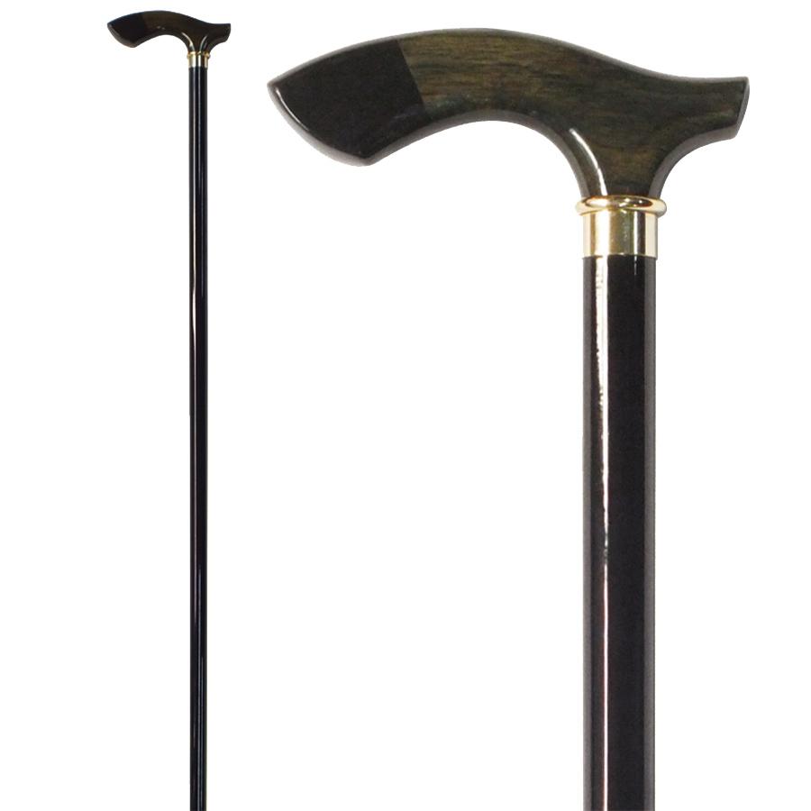 高級国産杖 木製ステッキ オークかりんチップハンドルステッキ OTUP 送料無料 福祉・介護 歩行関連用品 ステッキ・杖