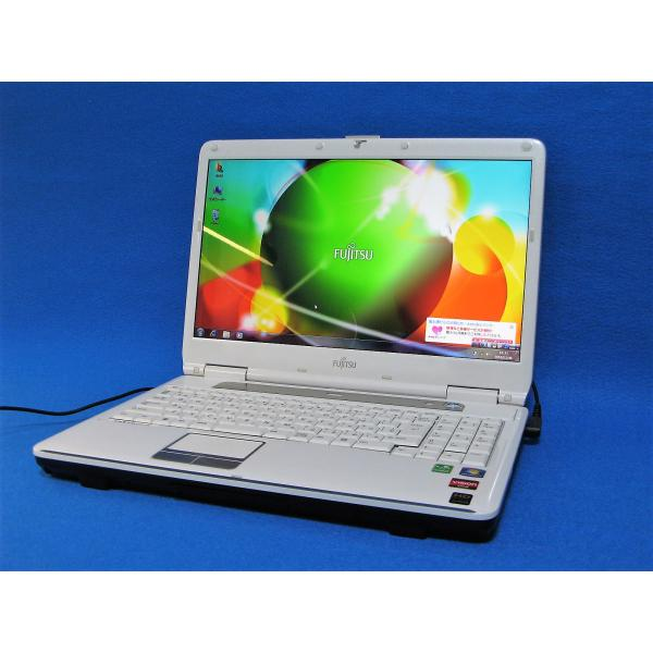 ★中古良品★FUJITSU LIFEBOOK CPU:Corei3 Corei5 / 2GB 4GB 6GB 8GB / 80GB 160GB 320GB 500GB 750GB 1TB / DVD Blu-ray 無線(Wifi)対応 HDMI SD 15.6インチ大画面液晶 格安パソコン 富士通