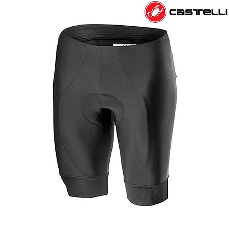 CASTELLI カステリ 春の新作続々 ENTRA 20009 SHORT 010BLACK アウトレット