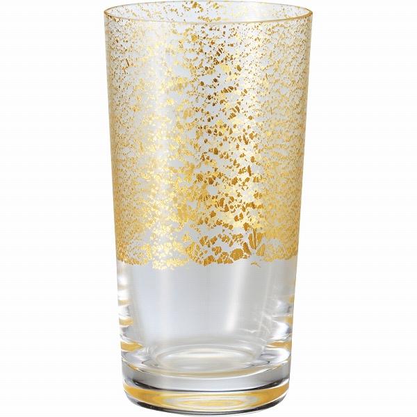 【景品 現物】 江戸硝子 金玻璃 冷酒杯吟醸(天空) 10893